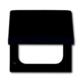 2118 GK-35 Busch-Jäger Zwischenring mit Klappdeckel Allwetter Anthrazit Produktbild