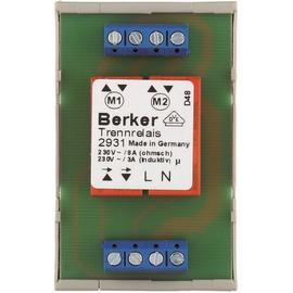 2931 Berker RolloTec Trennrelais 230V REG Produktbild