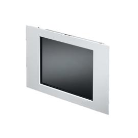 6450010 RITTAL SM TFT-Monitor 15Zoll B430xH343mm VGA+DVI RAL7035 Produktbild