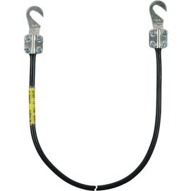 416010 DEHN Erdungsleitung 16mm²/L=1m m. 2 Kabelschuhen M8/M10 Produktbild