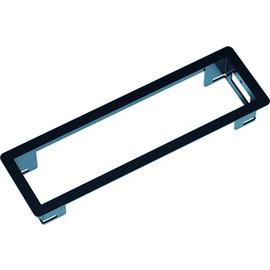 915000 BACHMANN Power Frame Einbaurahmen schwarz RAL9017 Produktbild
