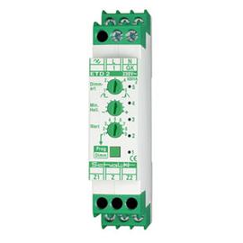 ETD209 SCHALK Universal-Tast-Dimmer LED/ESL 230V AC 35-500W VE Produktbild