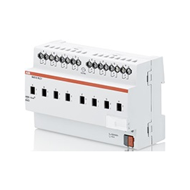 SA/S 8.16.2.1 ABB KNX Schaltaktor 8-Fach (16A-AC1) REG Produktbild