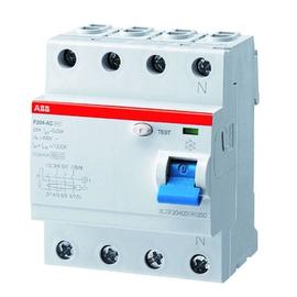2CSF204101R3400 ABB FI-Schalter F204A-40/0,3 Produktbild