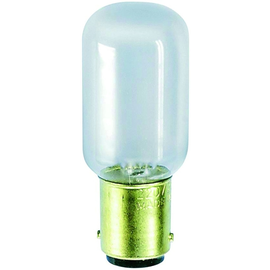 S+H N/ählichtlampe R/öhrenform 20x65 mm B15d 235 Volt 15 Watt klar sto/ßfest