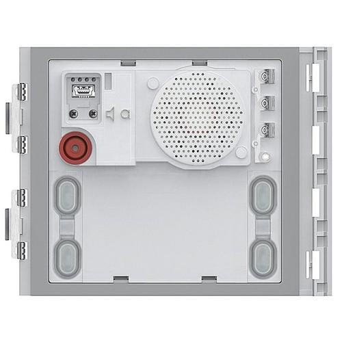 351100 Bticino 2-Draht Türlautsprecher Modul Plus 4 Ruftasten Led Produktbild Front View L