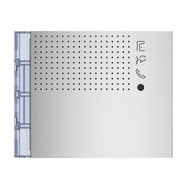 351101 Bticino Frontblende Lautsprecher Led ohne Ruftasten Allmetal Produktbild