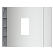 E52301 Bticino Leermodul für Ekey Home 1 FS UP I Allmetal Produktbild