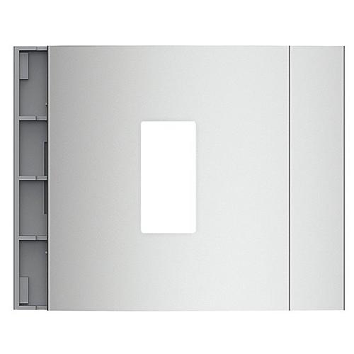 E52301 Bticino Leermodul für Ekey Home 1 FS UP I Allmetal Produktbild Front View L