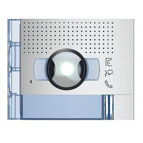 351311 Bticino Frontblende Audio-Video WW Abdeckung 1 Ruftaste  Allmetal Produktbild Front View L