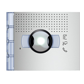 351301 Bticino Frontblende Audio-Video WW Abdeckung ohne Ruftaste  Allmetal Produktbild