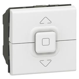 077026 LEGRAND MSC Jalousie-Schalter 2mod ws Produktbild