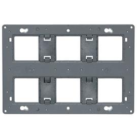 080266 LEGRAND MSC Tragring 2x6, 2x8 o. 2x3x2 Produktbild