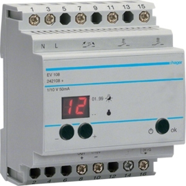 EV108 HAGER Fernsteuergerät komfort Produktbild