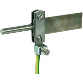 563169 DEHN Anschlußklemme f. Ring-PA NIRO f. Rd 8-10/Fl 30mm  Anschl. 2,5-95m Produktbild