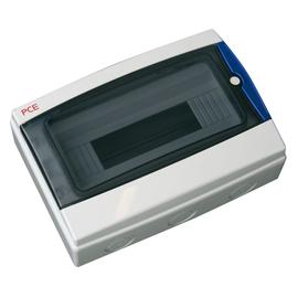 1519012 PCE T-BOX 12 Module mit Fenster FRAP Verteiler 12TE  217x307x105mm Produktbild