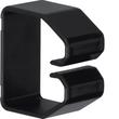 B400403 HAGER Drahthalteklammer 40040,schwarz Produktbild