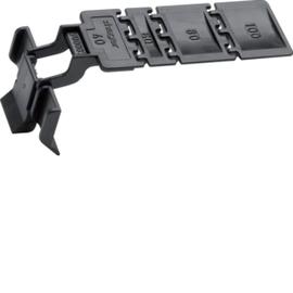 BA7CLIP HAGER Clip für Verdrahtungskanal BA7/HA7 Produktbild