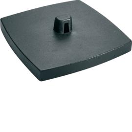 DAFF20009011 HAGER Bodenplatte DAF, graphitschwarz Produktbild