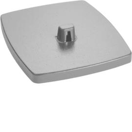 DAFF220007035 HAGER Bodenplatte DAF 2-fach, lichtgrau Produktbild