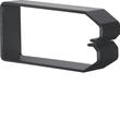 DN1000503 HAGER Drahthalteklammer 100050,schwarz Produktbild