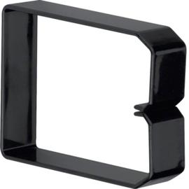 DN1000753 HAGER Drahthalteklammer 100075,schwarz Produktbild