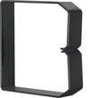 DN1001003 HAGER Drahthalteklammer 100100,schwarz Produktbild