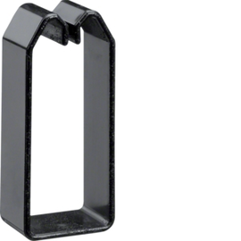 DN750373 HAGER Drahthalteklammer 75037,schwarz Produktbild
