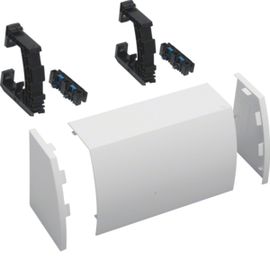 FZ441N HAGER Kabelrangierkanal,B300,RAL9010 Produktbild