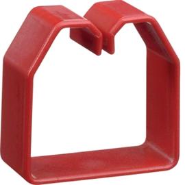 HN500503 HAGER Drahthalteklammer 50050,rot Produktbild