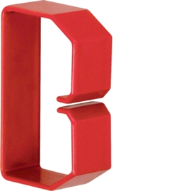 HN500753 HAGER Drahthalteklammer 50075,rot Produktbild