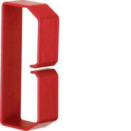 HN501003 HAGER Drahthalteklammer 50100,rot Produktbild