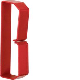 HN501253 HAGER Drahthalteklammer 50125,rot Produktbild