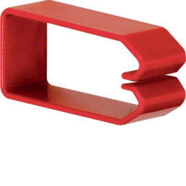 HN750373 HAGER Drahthalteklammer 75037,rot Produktbild