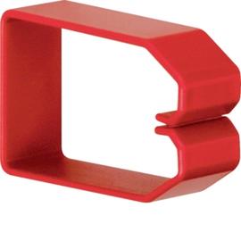 HN750503 HAGER Drahthalteklammer 75050,rot Produktbild