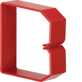 HN750753 HAGER Drahthalteklammer 75075,rot Produktbild