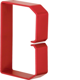 HN751003 HAGER Drahthalteklammer 75100,rot Produktbild