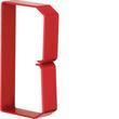 HN751253 HAGER Drahthalteklammer 75125,rot Produktbild