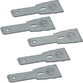 L5806 HAGER Set besteht aus 5 Erdungslaschen Produktbild