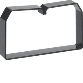 LK751253 HAGER Drahthalteklammer 75125,schwarz Produktbild