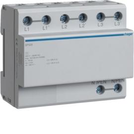 SP320 HAGER Blitzstromableiter 3P 100kA Typ1 TN Produktbild