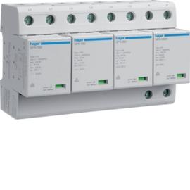 SPN802R HAGER Kombi-Ableiter 4P st.100kA Typ1 A+K TT Produktbild