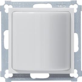 WYK130 HAGER Lichtsignal mit Abdeckung,brillantweiß Produktbild