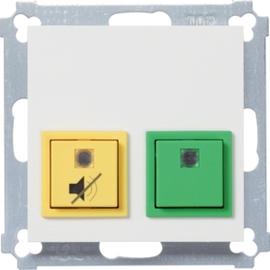 WYK150 HAGER Dienstzimmereinheit,Abdeckung,b.weiß Produktbild