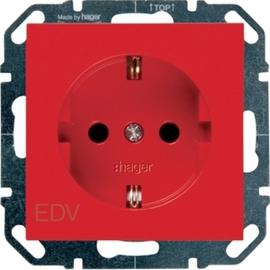 WYS205 HAGER Steckdose EDV, rot Produktbild