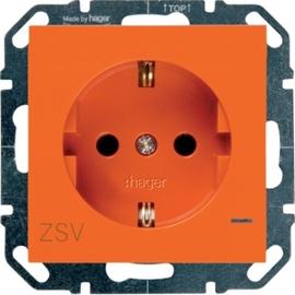 WYS503 HAGER Steckdose ZSV, Beleuchtung, orange Produktbild