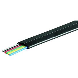 TELEFONFLACHLTG. 6POL. 100m Spule AWG26 18x0,10 schwarz Produktbild