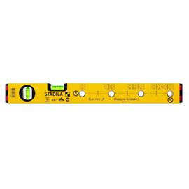 16135 STABILA Wasserwaage Ele.43cm 1 Horiz/1 Vert.-Libelle 4 Markierl. ALU Produktbild