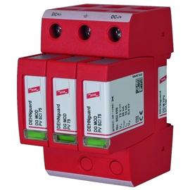 952513 DEHN Überspan.abl. Typ2 DEHNguard M mehrpolig für PV-Anlagen bis 150V DC Produktbild