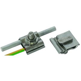540260 DEHN UNI-Erdungsklemme NIRO f. Rd 8-10mm u.Leiter 4-50mm² m.Schraube M10 Produktbild